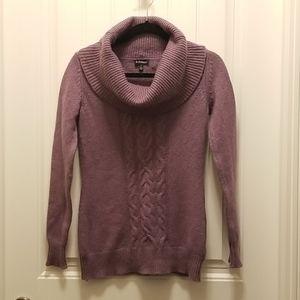 Le Chateau Knit Cowl Neck Sweater